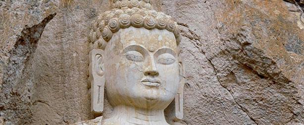 Stone-Buddha-face